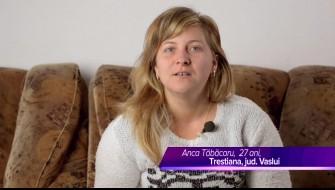 Celadrin™+RoboFlex™-- relatarea dnei Tabacaru Anca, 27 ani, Trestiana, jud. Vaslui