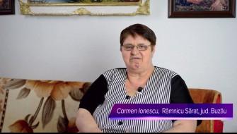 Celadrin™-- relatarea dnei Ionescu Carmen, Ramnicu Sarat, jud. Buzau
