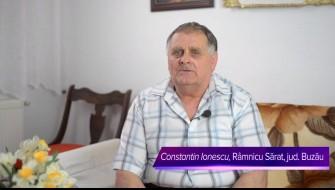 Celadrin™-- relatarea dlui Constantin Ionescu, Ramnicu Sarat, jud. Buzau