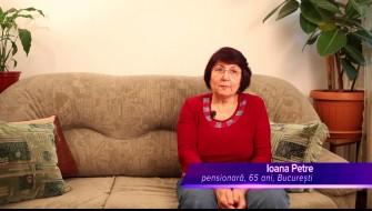 Celadrin™ -- relatarea dnei Ioana Petre