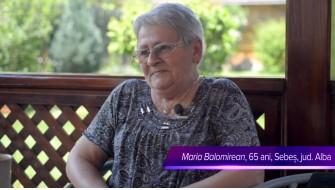 Coenzima Q10 Dual -- relatarea dnei Maria Balomirean, Sebeș, jud. Alba