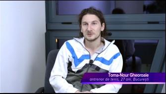Celadrin™ -- relatarea dlui Toma-Nour Gheoroaie, antrenor tenis