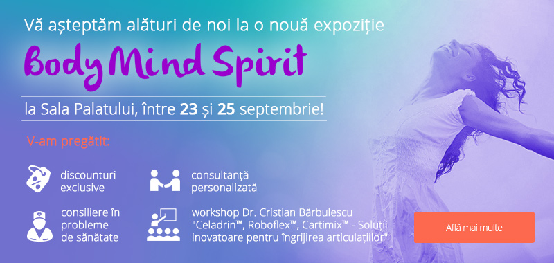 Expozitie Body Mind Spirit sept 2016